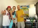 Supa B, me and Marcus